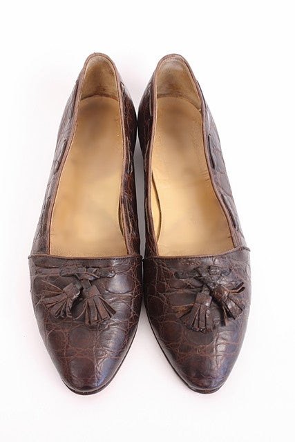 Vintage Ralph Lauren Alligator Loafers