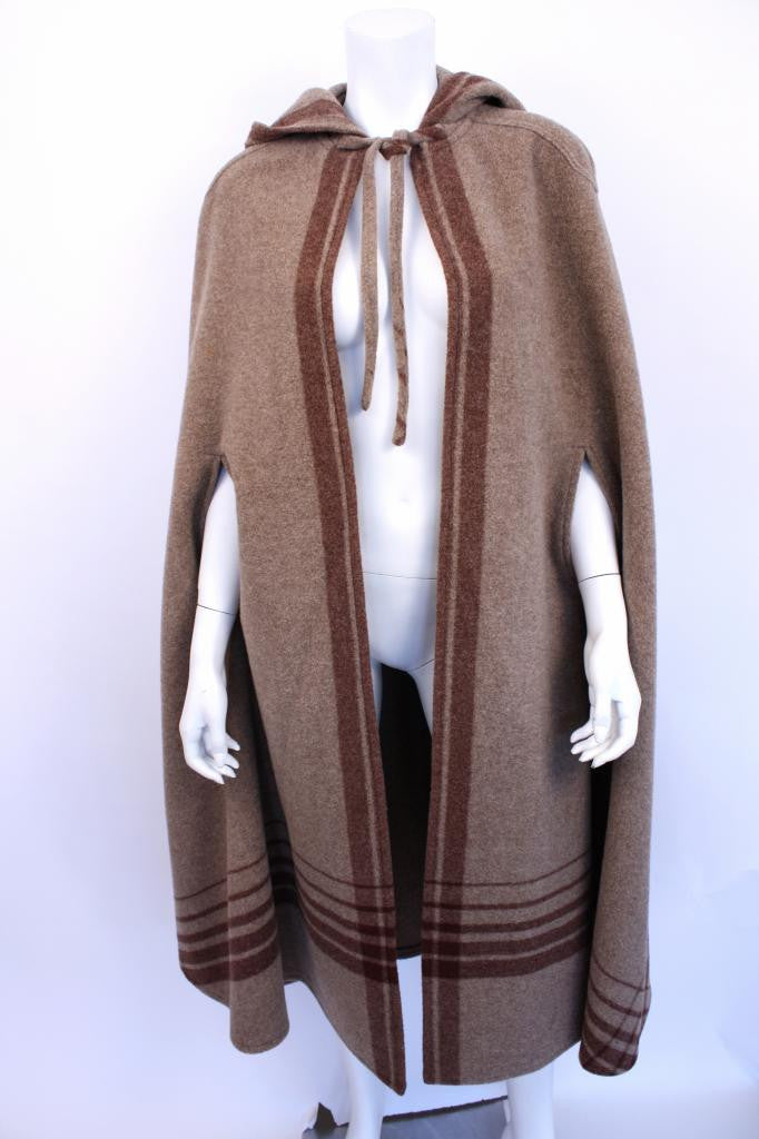 Vintage 60 S Saks Fifth Ave Blanket Cape At Rice And Beans