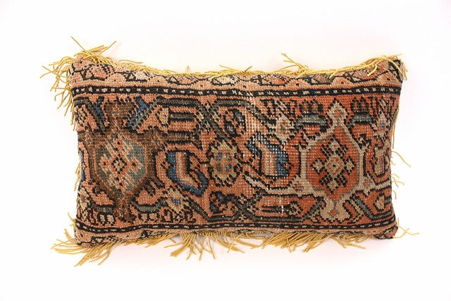 Rectangular Antique Kilim Pillow