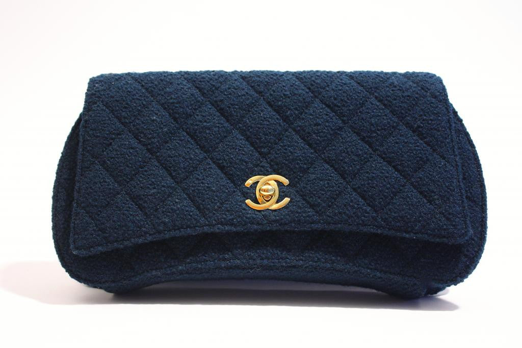 Vintage Chanel Boucle Flap Bag