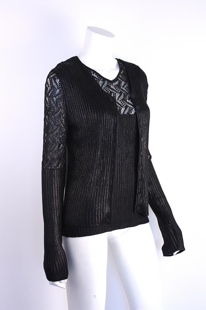 Christian Dior Knit Sweater Set