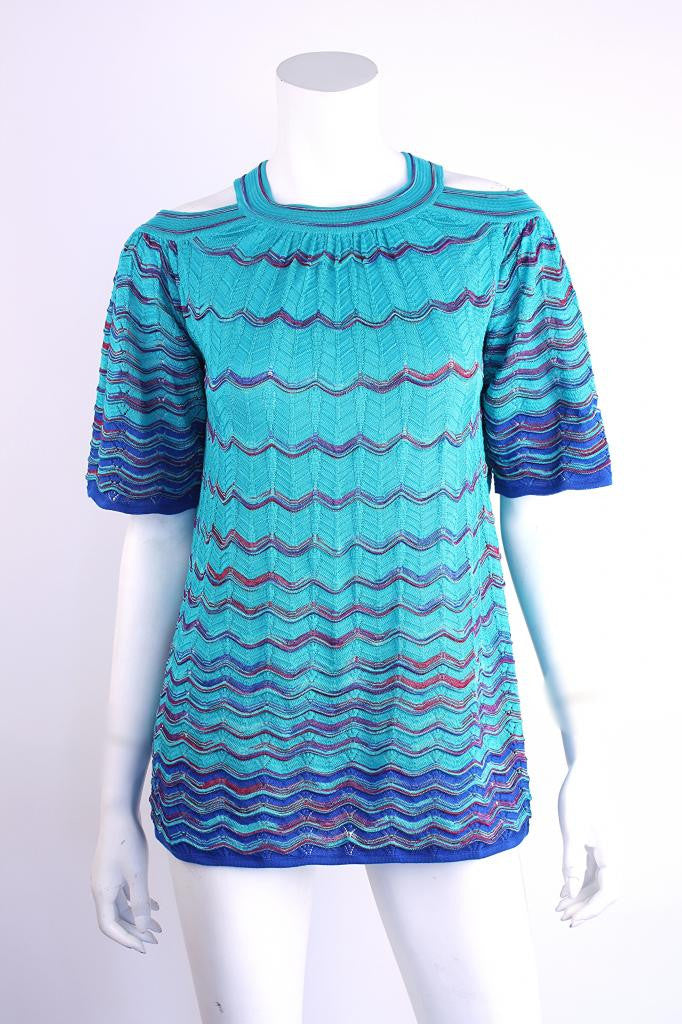 Missoni Top with Cut outs