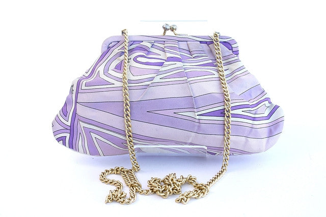 Vintage Emilio Pucci Silk Evening Bag