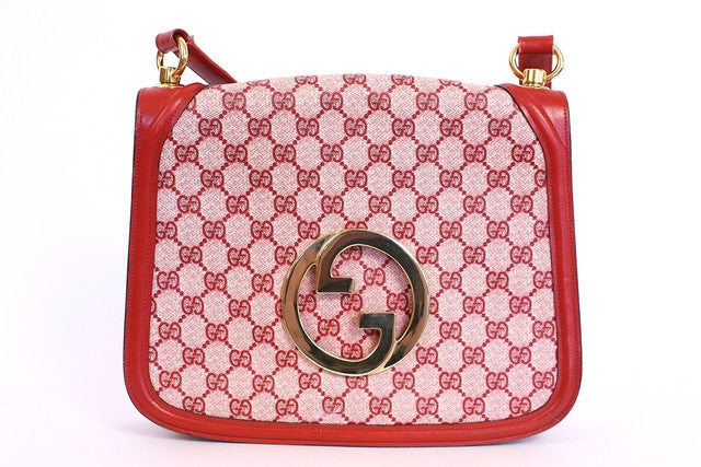 Vintage 70's Gucci Red Blondie Bag