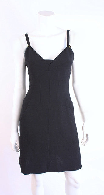 Vintage Chanel Little Black Dress