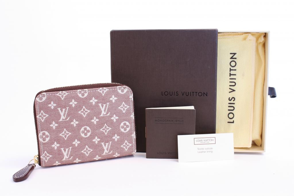 Louis Vuitton Sepia Monogram Coin Purse
