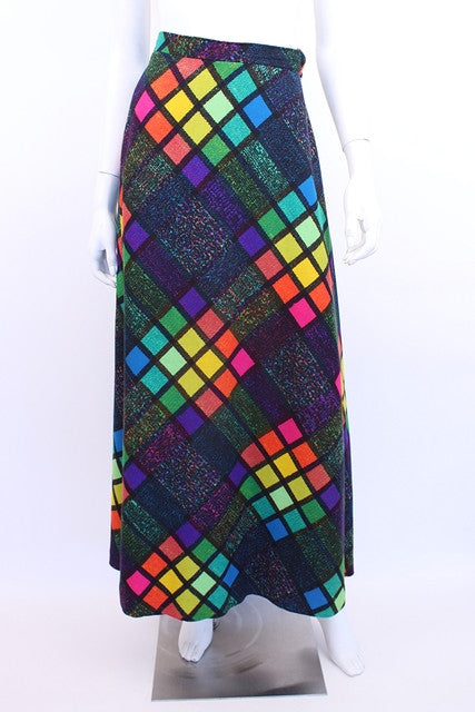 Vintage 70's Saks Fifth Avenue Maxi Skirt