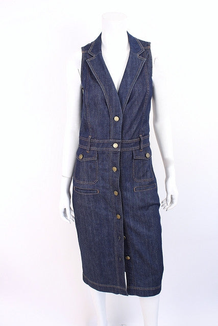 Authentic New Gucci Denim Dress
