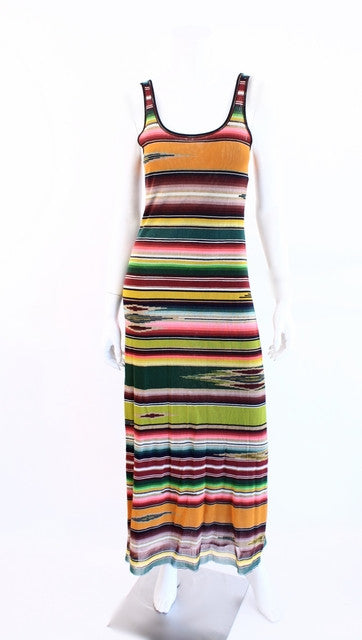 Jean Paul Gaultier Navajo Print Dress