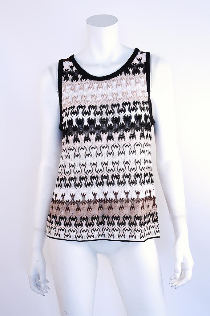 Missoni Orange Label Sweater Tank