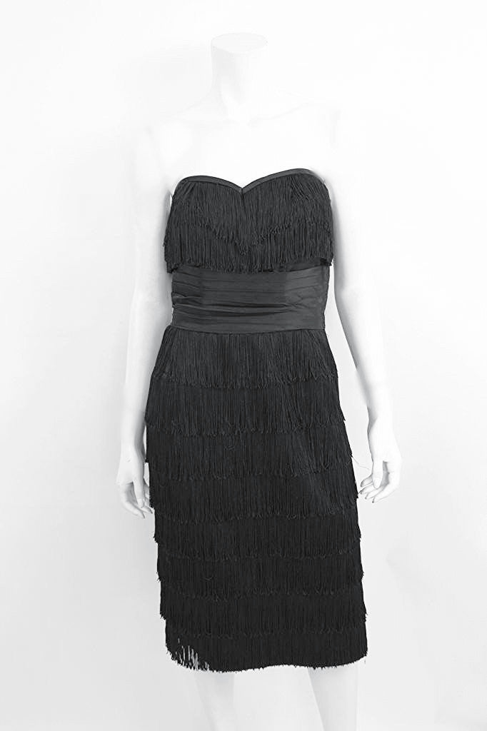 Vintage 60's Edward Abbott Fringe Dress
