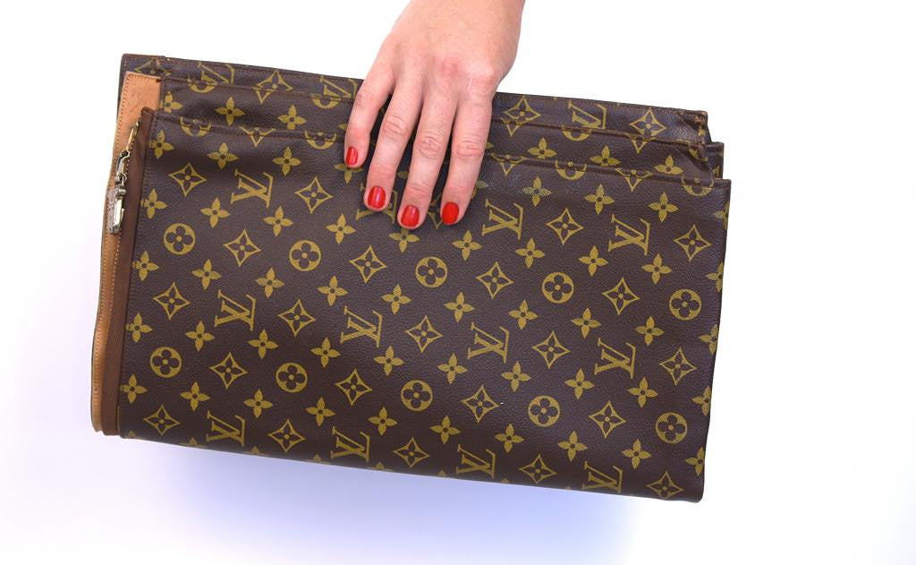 Authentic Vintage Louis Vuitton Portfolio Clutch