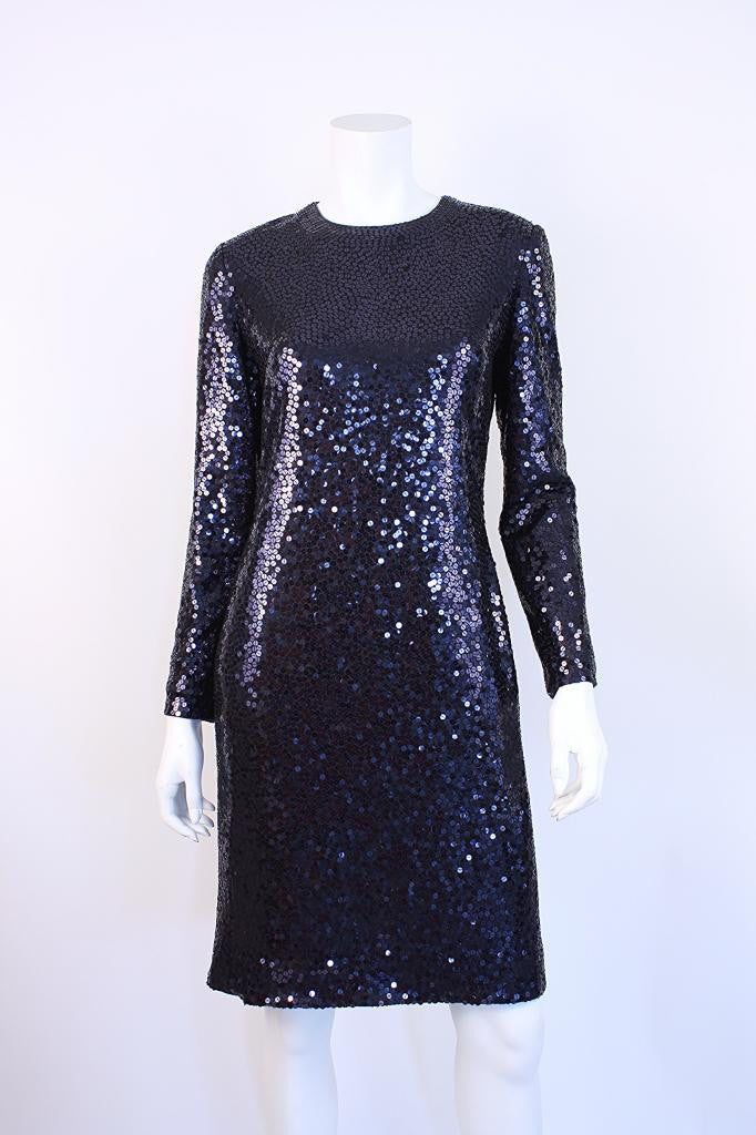 Bill Blass Sequin Dress
