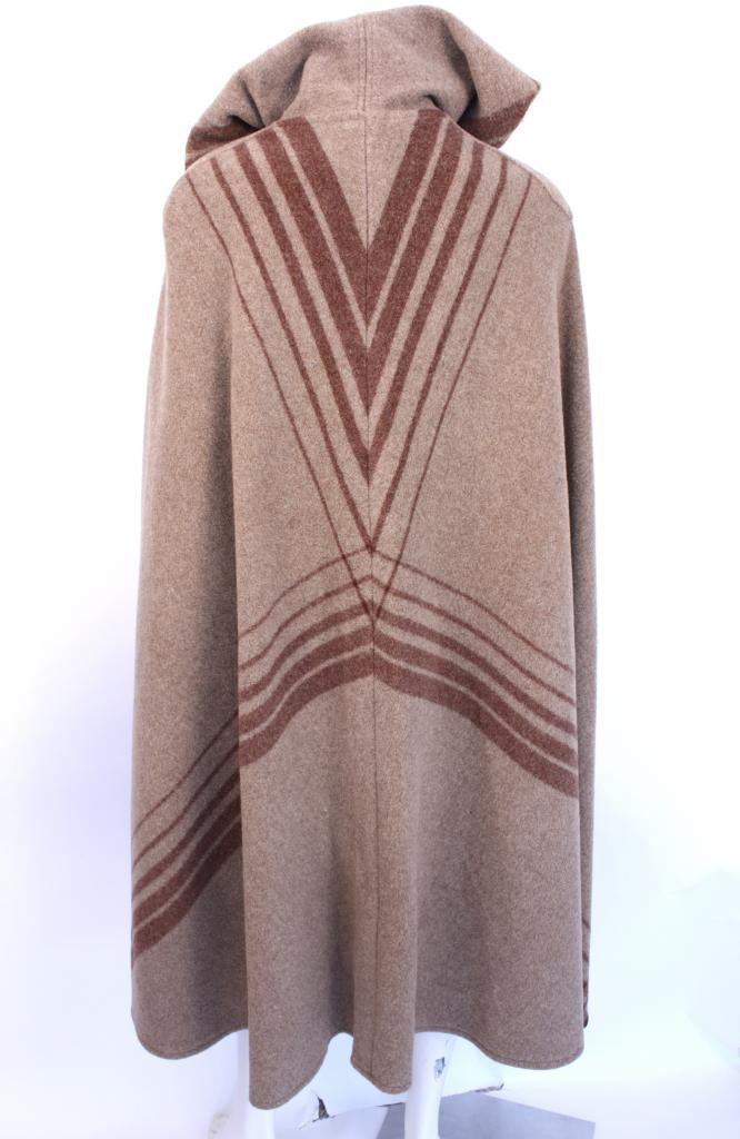 Vintage 60's Saks Fifth Ave Blanket Cape