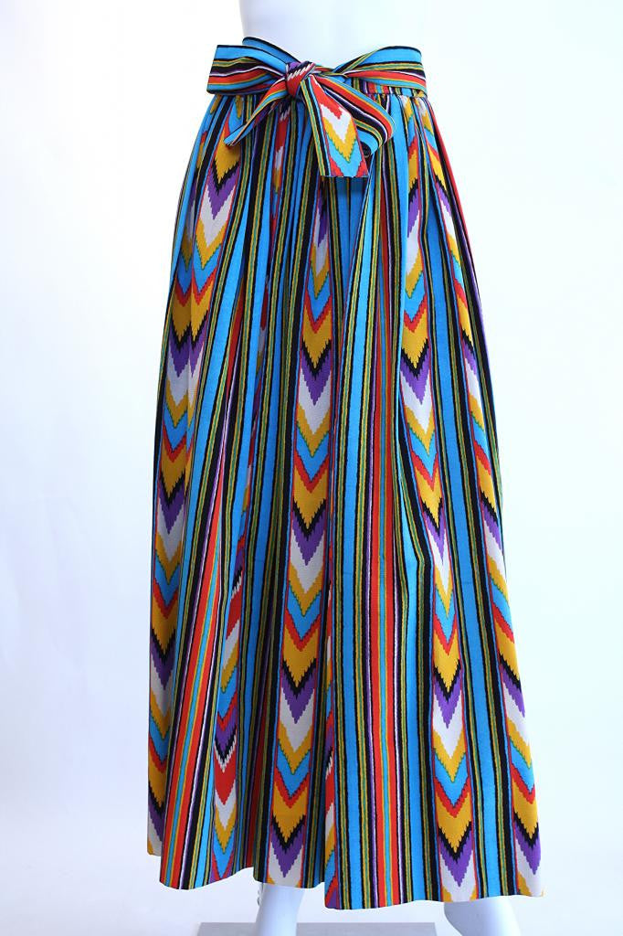 Vintage 70's YVES SAINT LAURENT South West Skirt  RESERVED