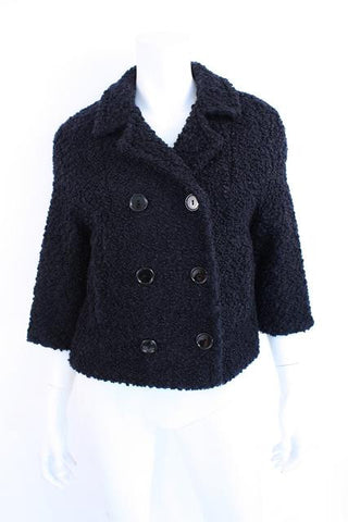 Vintage BEST & CO Faux Persian Lamb Coat