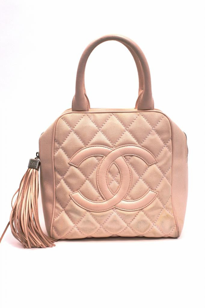 Authentic Chanel Bowler Bag