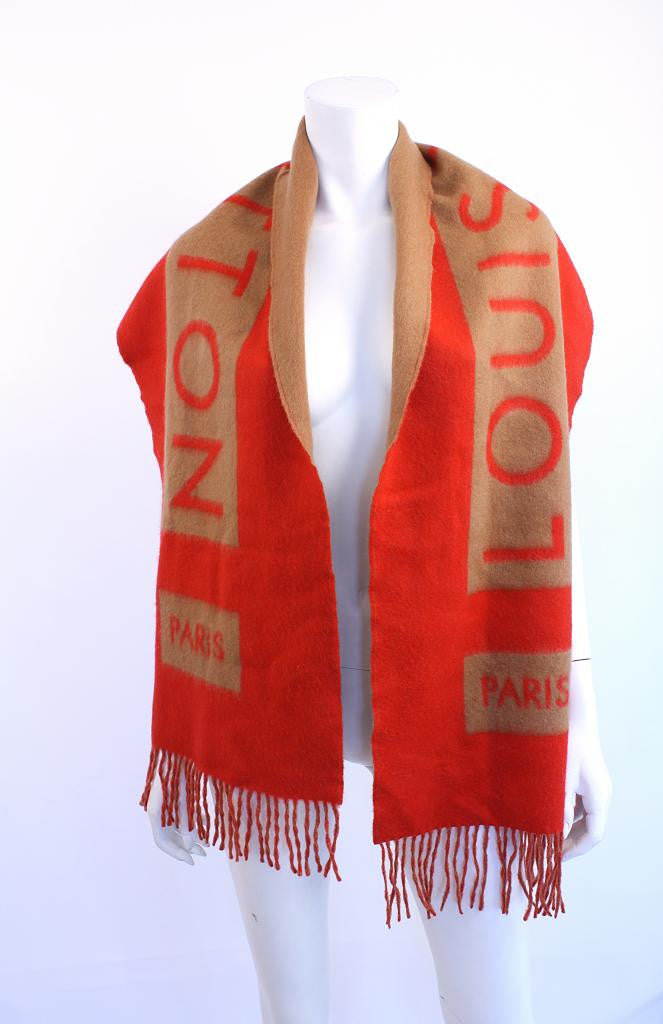 Louis Vuitton Cashmere Scarf