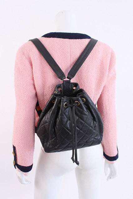 Vintage Chanel Caviar Backpack