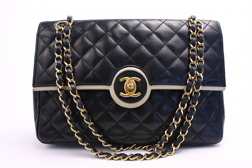 Authentic Vintage Chanel 2.55 Classic Flap Bag