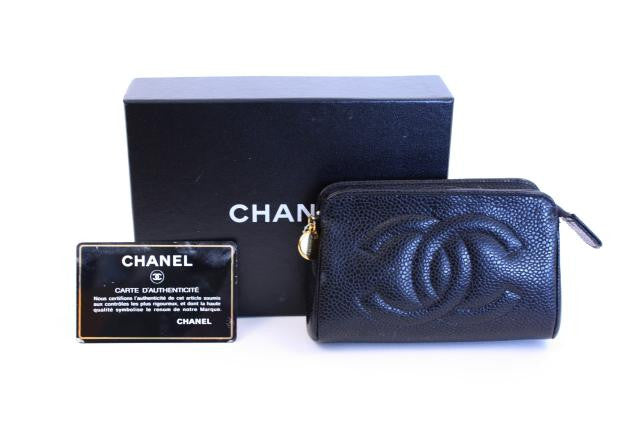 Vintage Chanel Caviar Coin Purse