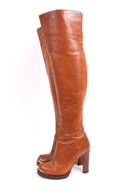 Vintage 70's Over The Knee Platform Boots