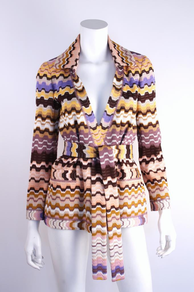 Missoni wrap sweater Jacket