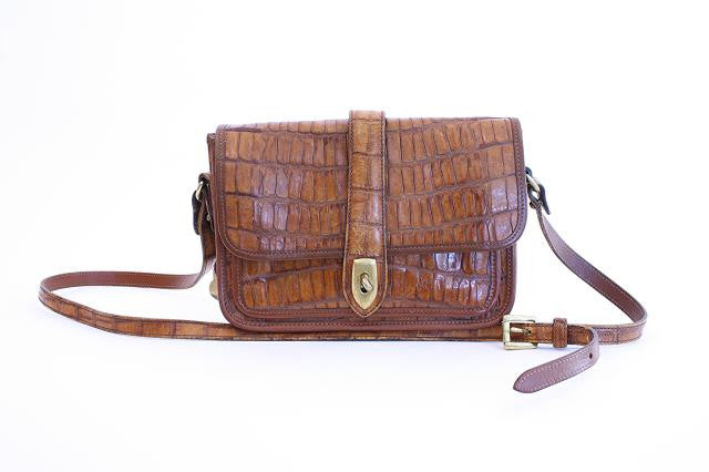 Vintage Dooney & Bourke Alligator Bag