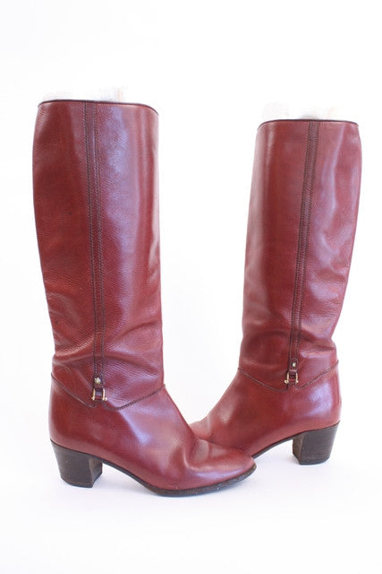 Vintage 70's Gucci Equestrian Boots