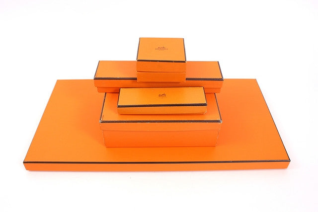 Set of 5 Vintage Hermes Boxes
