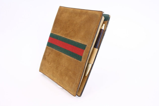 Vintage 70's Gucci Planner with Pen