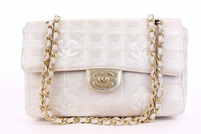 Vintage Chanel Gold Single Flap Bag