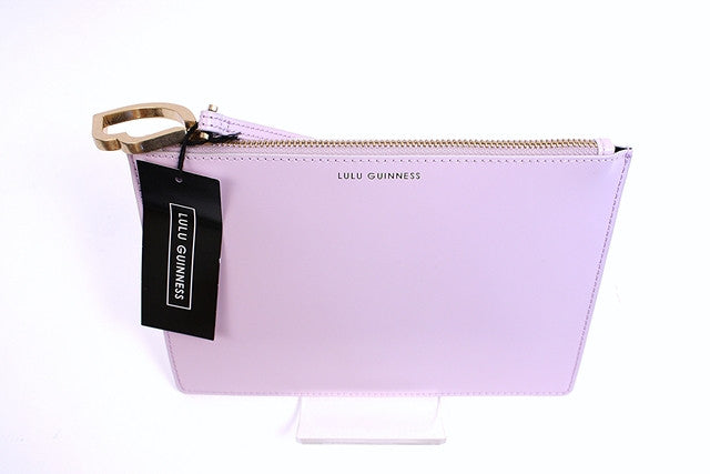 Lulu Guinness Grace Pouch Clutch
