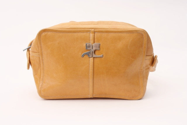Vintage Courreges Leather Handbag