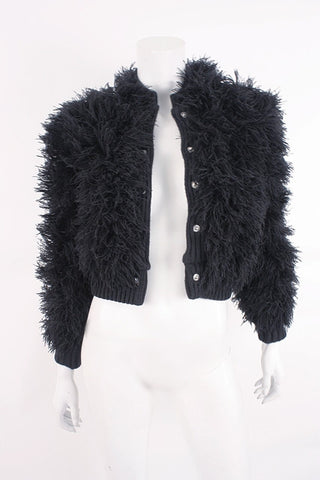 Vintage CRISSA COUTURE Shaggy String Jacket