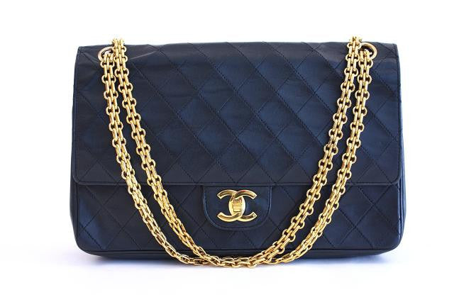 Vintage Chanel 2.55 Double Flap Bag