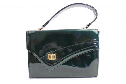 Vintage 60's Patent Leather Handbag