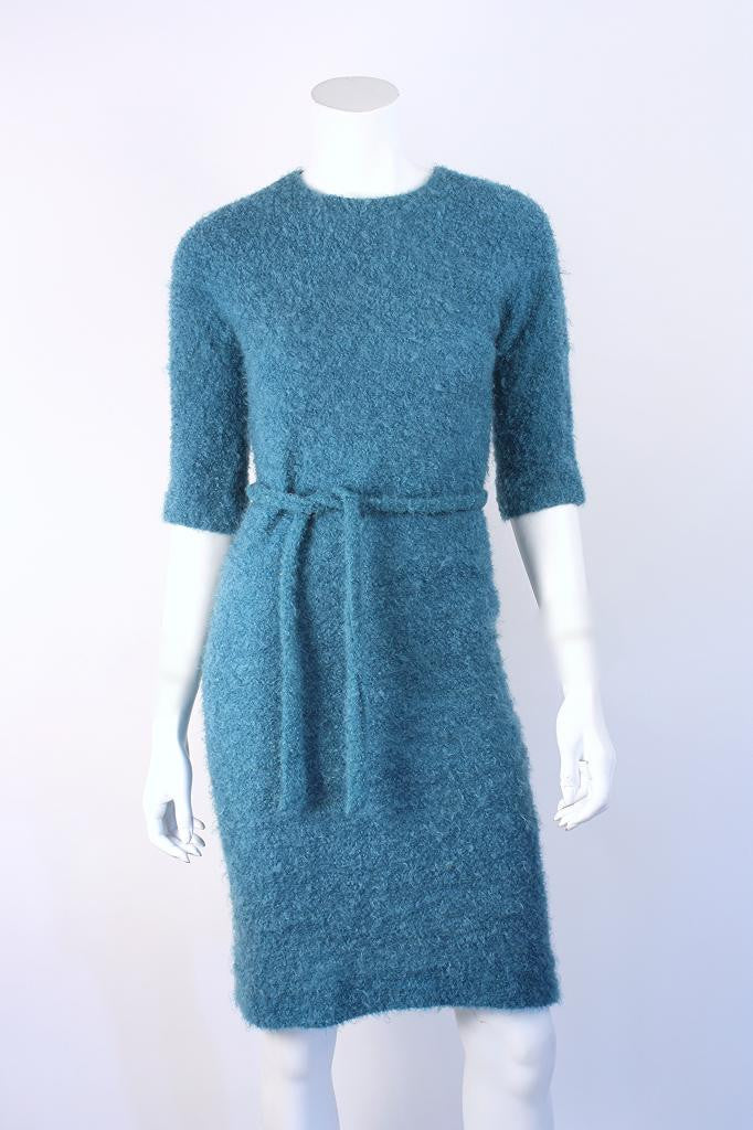 Vintage 60's Mohair Boucle Dress