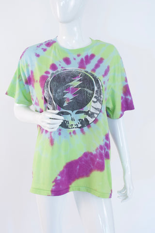 Vintage 80's GRATEFUL DEAD Steal Your Face Silk Screen T-Shirt