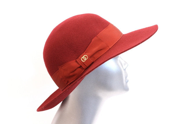 Vintage 70's Gucci Red Hat