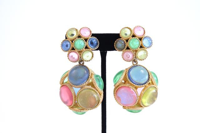 Vintage Marvella 60's Earrings