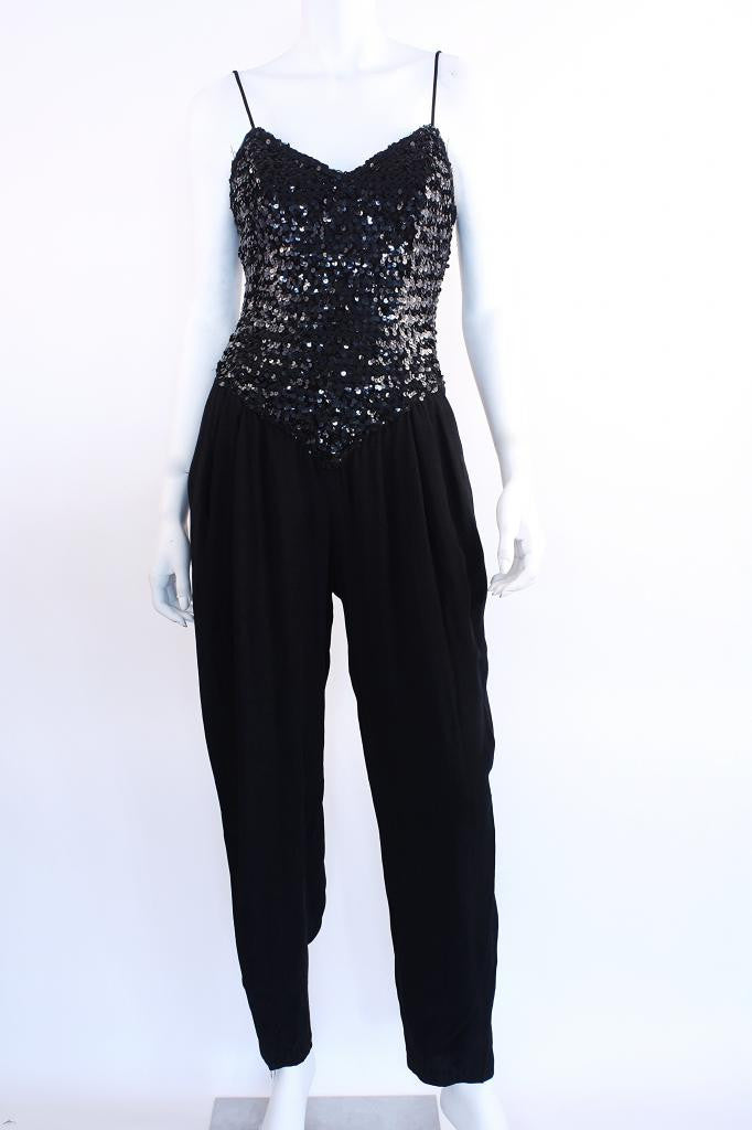 Vintage 80's Sequin Jumpsuit