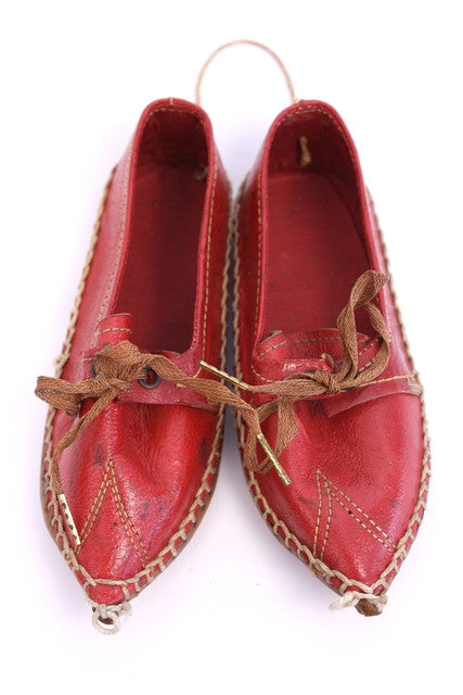 Antique 1906 Greek Shoes