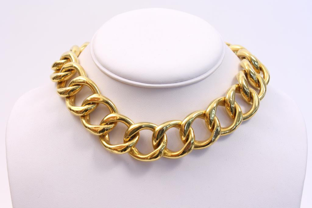 Vintage 80's chain necklace