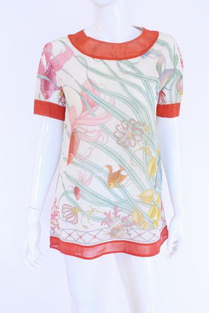 Vintage 70's GUCCI V. Accornero Underwater Tunic Top