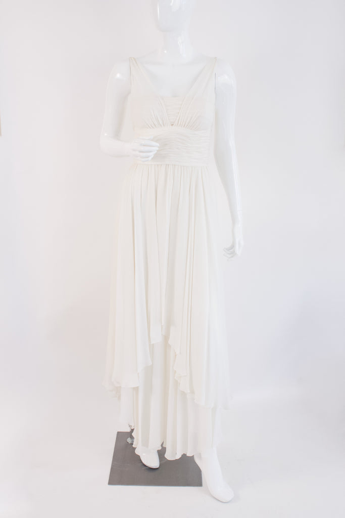 Rare Vintage 1994 CHANEL Dress With Chain Straps