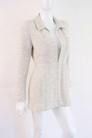 CHANEL 02P Fitted Boucle Jacket