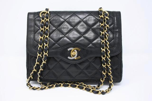 Vintage Chanel 80's Double Flap Handbag