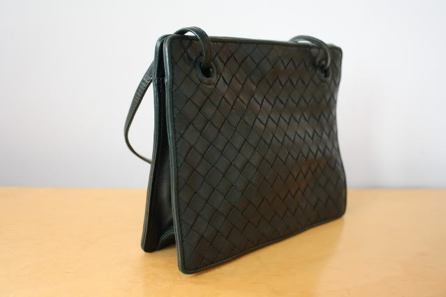 Vintage BOTTEGA VENETA Woven Leather Handbag