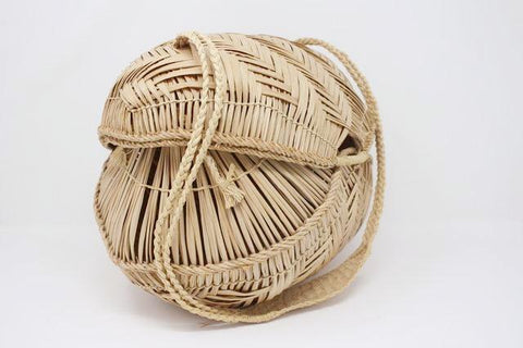 Vintage African Basket Bag